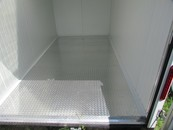 Diamond plate floor