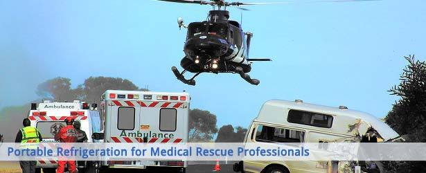Portable Refrigeration Solutions for Pharmacy & Medical Rescue Professionals